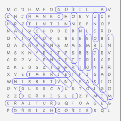 wordsearch solve